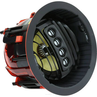 SpeakerCraft AIM7 FIVE Max SPL 111dB, 150 Watt Power Handling, 35Hz - 20kHz, 8Ω, 90dB 1W/1m, szer. 244mm x wys. 140mm (z grilem), średnica otworu 214mm