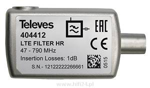 Televes Filtr LTE 5...790MHz Selektywny IEC 404412