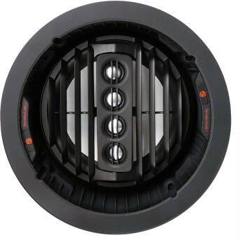 SpeakerCraft AIM7 DT THREE Stereo Dual Aluminum ARC Tweeter Array, Max SPL 109dB, 150 Watt Power Handling, 45Hz -20kHz, 8Ω, 89dB 1W/1m, szer. 244mm x wys. 140mm (z grilem), średnica otworu 214mm