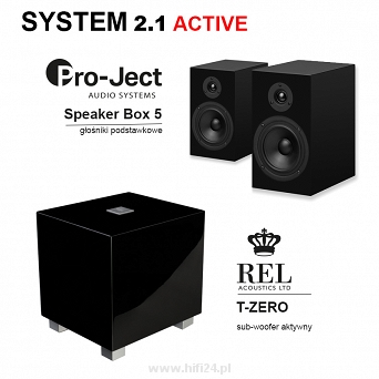 Set 2.1 Active zestaw stereo